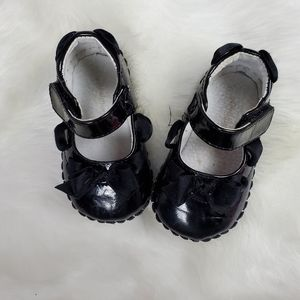 Pediped baby shoes maryjane black 6 to 12 months